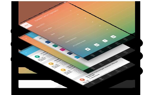 mobile app design and ui design image