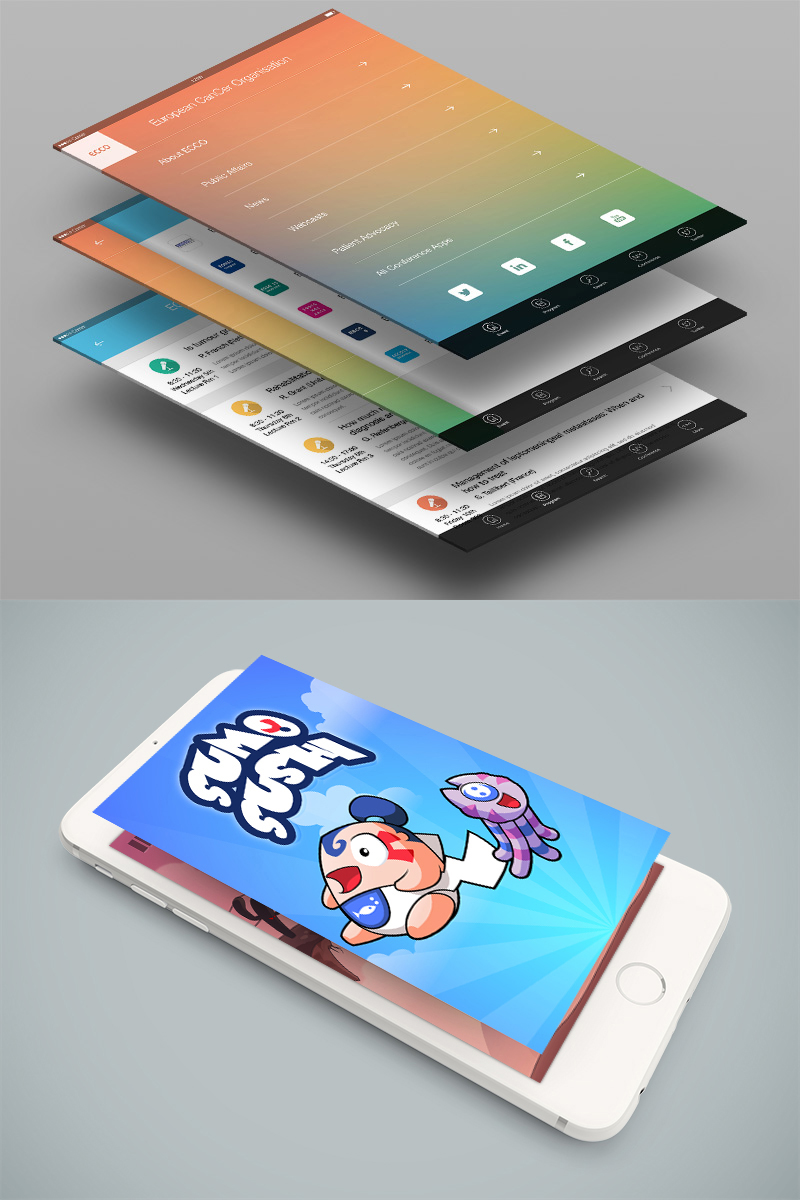 Cambridge mobile app design