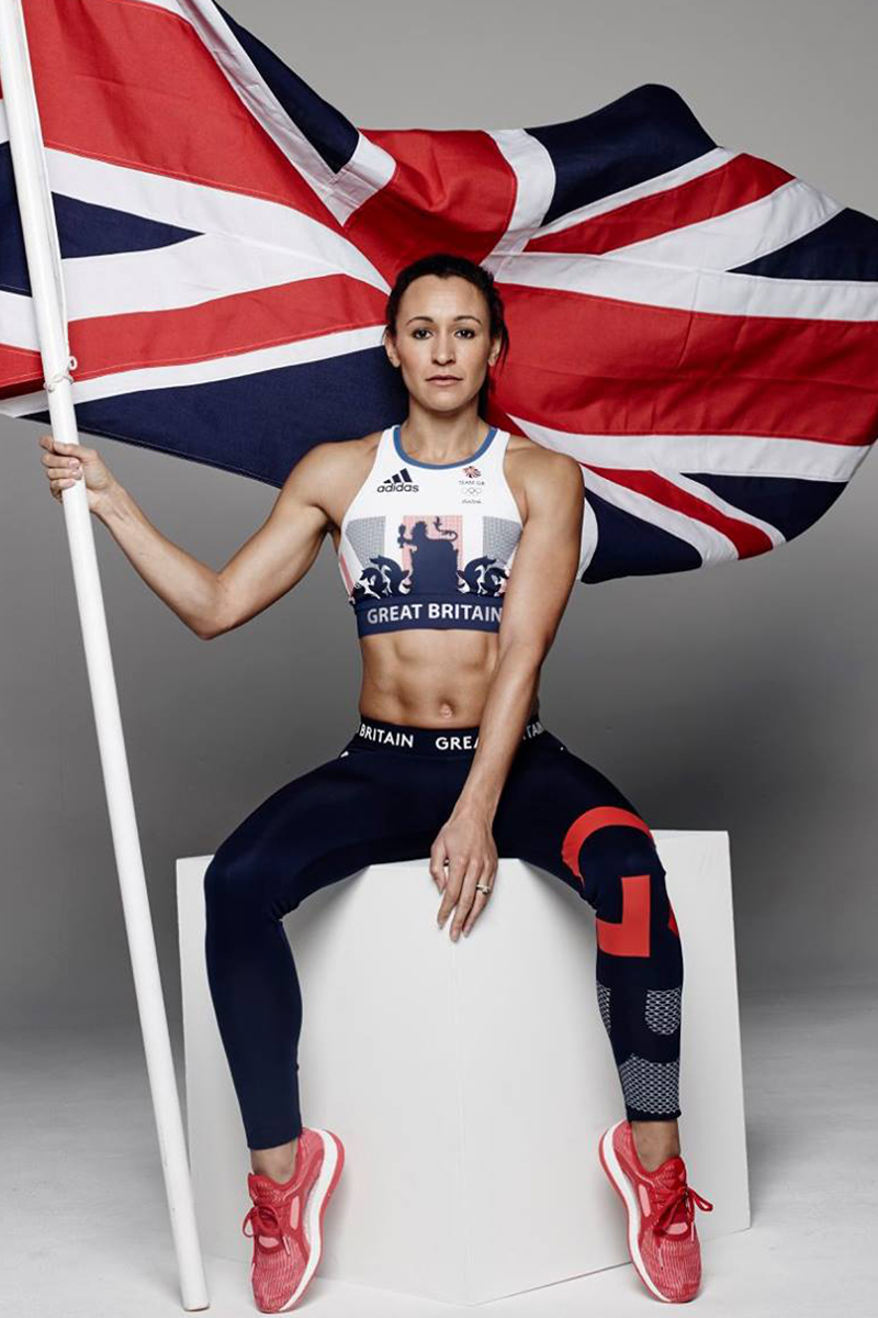 Team GB logo design on the new Olympic kit.